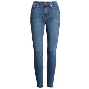 Good American High Rise Crop Skinny Jeans 14